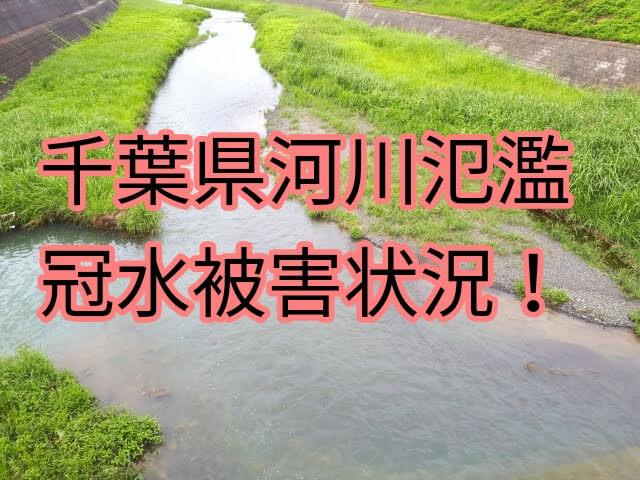 茂原 冠水